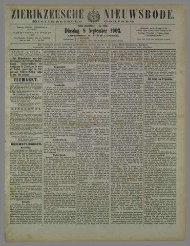 Zierikzeesche Nieuwsbode 1903-09-08
