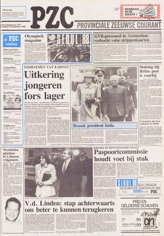 Provinciale Zeeuwse Courant 1988-09-13