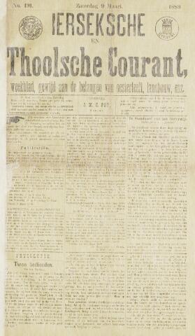 Ierseksche en Thoolsche Courant 1889-03-09