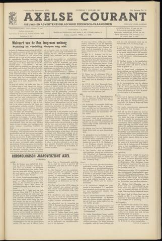 Axelsche Courant 1967