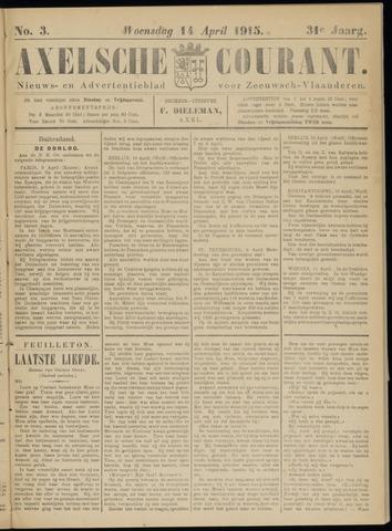 Axelsche Courant 1915-04-14