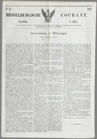 Middelburgsche Courant 1872-04-08