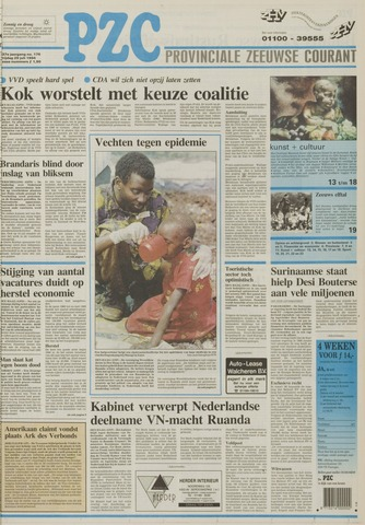 Provinciale Zeeuwse Courant 1994-07-29
