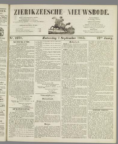 Zierikzeesche Nieuwsbode 1865-09-02