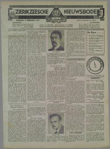 Zierikzeesche Nieuwsbode 1937-02-02
