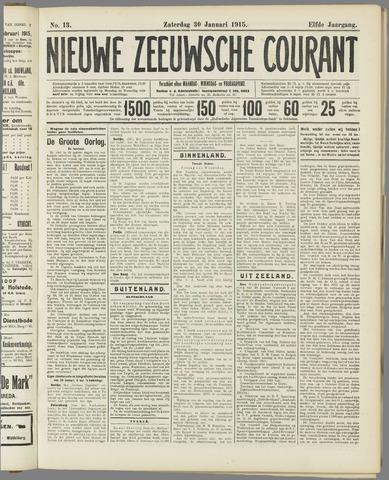 Nieuwe Zeeuwsche Courant 1915-01-30