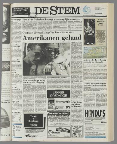 de Stem 1992-12-09