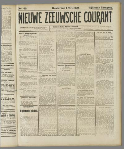 Nieuwe Zeeuwsche Courant 1919-05-01
