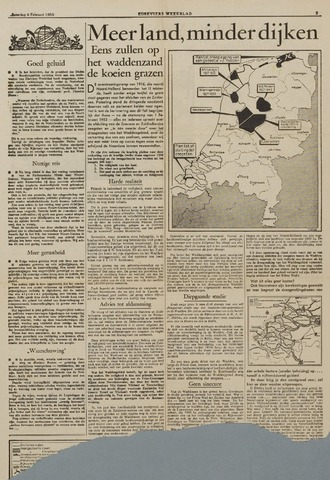 Watersnood documentatie 1953 - kranten 1954-02-06