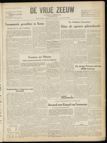 de Vrije Zeeuw 1951-02-01