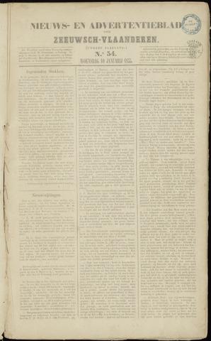 Ter Neuzensche Courant. Algemeen Nieuws- en Advertentieblad voor Zeeuwsch-Vlaanderen / Neuzensche Courant ... (idem) / (Algemeen) nieuws en advertentieblad voor Zeeuwsch-Vlaanderen 1855-01-10