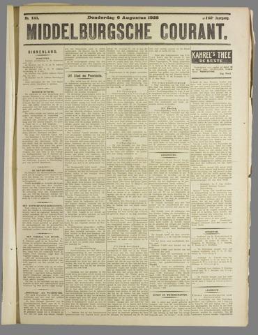 Middelburgsche Courant 1925-08-06