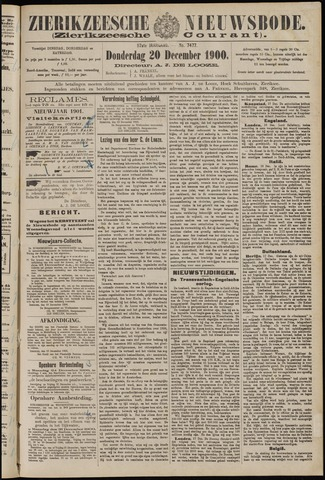 Zierikzeesche Nieuwsbode 1900-12-20