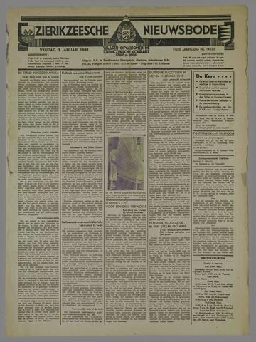 Zierikzeesche Nieuwsbode 1941-01-03