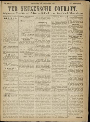 Ter Neuzensche Courant. Algemeen Nieuws- en Advertentieblad voor Zeeuwsch-Vlaanderen / Neuzensche Courant ... (idem) / (Algemeen) nieuws en advertentieblad voor Zeeuwsch-Vlaanderen 1917-12-15