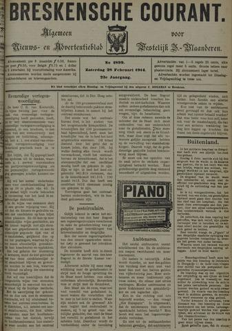 Breskensche Courant 1914-02-28