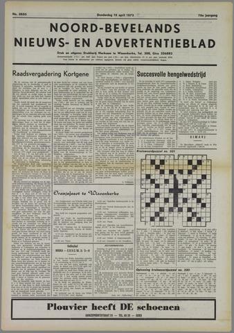 Noord-Bevelands Nieuws- en advertentieblad 1973-04-19