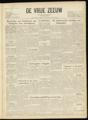 de Vrije Zeeuw 1956-08-08