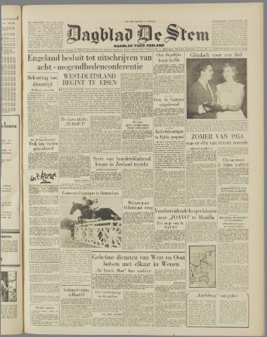 de Stem 1954-09-02