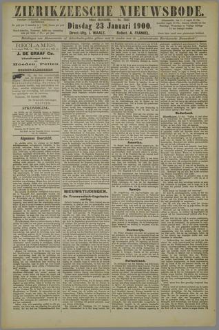 Zierikzeesche Nieuwsbode 1900-01-23