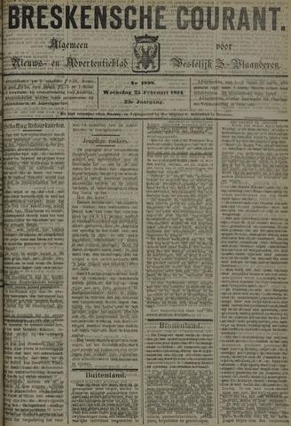 Breskensche Courant 1914-02-25
