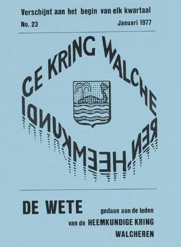 de Wete 1977-01-01