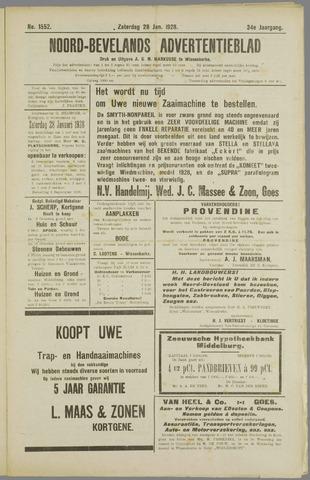 Noord-Bevelands Nieuws- en advertentieblad 1928-01-28