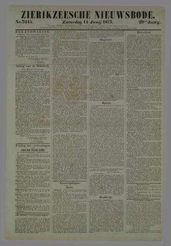 Zierikzeesche Nieuwsbode 1873-06-14