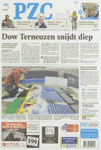 Provinciale Zeeuwse Courant 2008-12-11