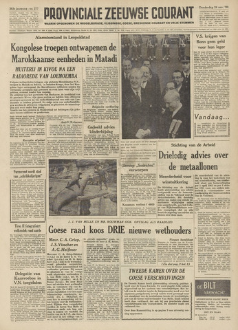 Provinciale Zeeuwse Courant 1960-11-24