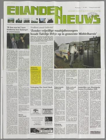 Eilanden-nieuws. Christelijk streekblad op gereformeerde grondslag 2007-10-30