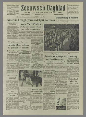 Zeeuwsch Dagblad 1958-09-18