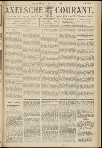 Axelsche Courant 1930-01-14