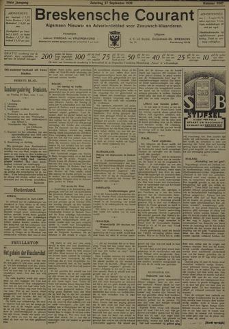 Breskensche Courant 1930-09-27