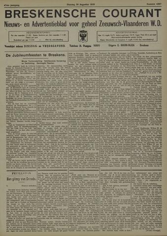 Breskensche Courant 1938-08-30