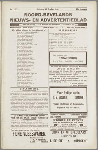 Noord-Bevelands Nieuws- en advertentieblad 1940-10-19