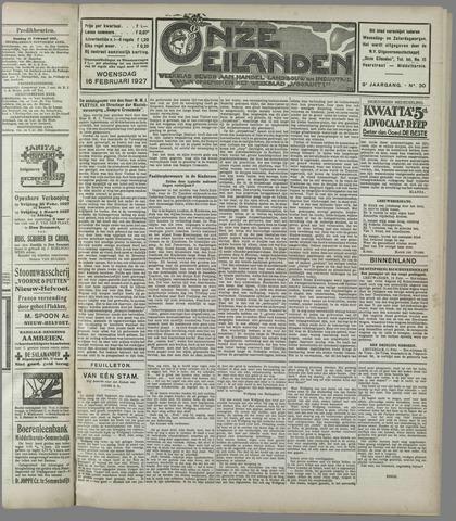 Onze Eilanden 1927-02-16