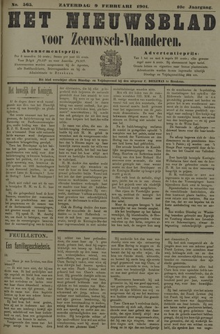 Nieuwsblad voor Zeeuwsch-Vlaanderen 1901-02-09
