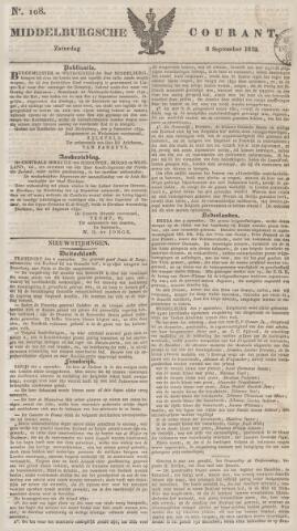 Middelburgsche Courant 1832-09-08