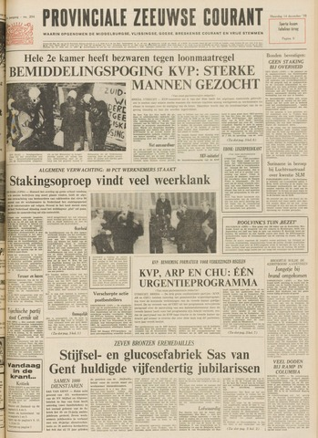 Provinciale Zeeuwse Courant 1970-12-14