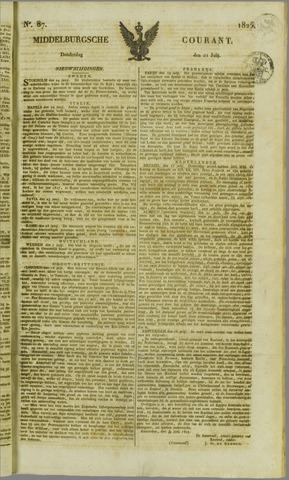 Middelburgsche Courant 1825-07-21