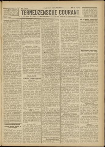 Ter Neuzensche Courant. Algemeen Nieuws- en Advertentieblad voor Zeeuwsch-Vlaanderen / Neuzensche Courant ... (idem) / (Algemeen) nieuws en advertentieblad voor Zeeuwsch-Vlaanderen 1942-11-27
