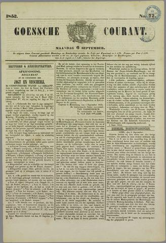 Goessche Courant 1852-09-06