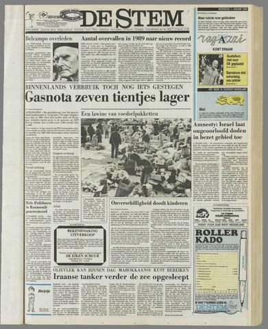 de Stem 1990