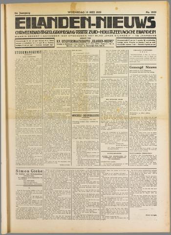 Eilanden-nieuws. Christelijk streekblad op gereformeerde grondslag 1939-05-10