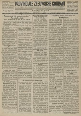 Provinciale Zeeuwse Courant 1942-03-02