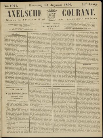 Axelsche Courant 1896-08-12
