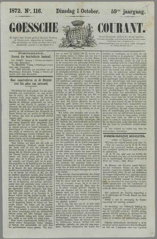 Goessche Courant 1872-10-01