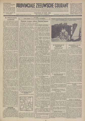 Provinciale Zeeuwse Courant 1941-10-27