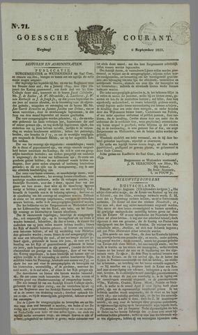 Goessche Courant 1833-09-06